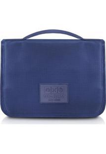 Necessaire Jacki Design De Viagem Poliéster - Unissex-Azul