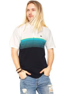 Camisa Polo Quiksilver Fullgaz Bege