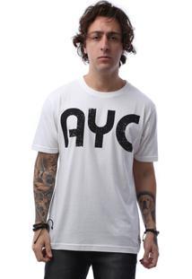 Camiseta Asphalt Letter Ayc Masculina - Masculino