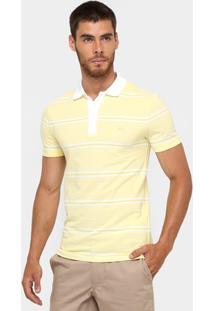 Camisa Polo Lacoste Piquet Listrada Slim Fit - Masculino