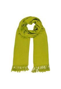 Xale - Pashmina- Visc Lisa - Verde Pistache