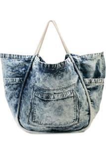 3a2e04bcd ... Proenza Schouler Bolsa Tote Jeans - Dark Acid Denim