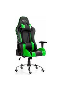 Cadeira Gamer Bluecase Titanium Green/Black - Bch22Gbk