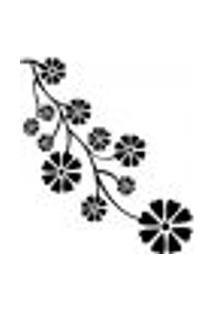 Adesivo De Parede - Galho De Flores - 010Fl-P