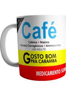 Caneca Live Café Branca