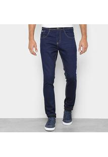 Calça Jeans Skinny Biotipo Masculina - Masculino-Marinho