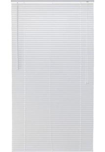 Persiana Horizontal Pvc Top Flex 1,20X1,60M 25Mm Branca