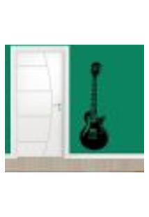 Adesivo De Parede Guitarra - G 150X50Cm