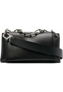 Off-White Bolsa Tiracolo Nailed - Preto