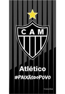 Toalha Do Atlético Mineiro De Banho Veludo - Unissex