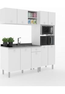 Cozinha Compacta Piazza 9 Portas 1 Gaveta 600024 Branco - Vedere