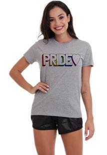 Camiseta Basica Joss Lgbt Pride 3D Mescla - Kanui