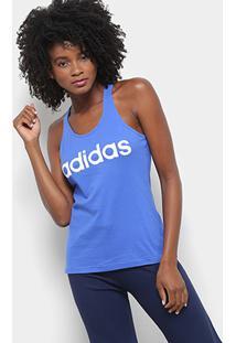 Regata Adidas Nadador Ess Li Sli Feminina - Feminino-Azul
