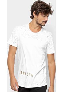 Camiseta Kohmar Estampada Brooklyn Masculina - Masculino-Off White