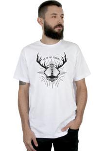 Camiseta Bleed American Seaside Branca