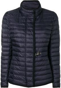 Fay Short Padded Jacket - Azul
