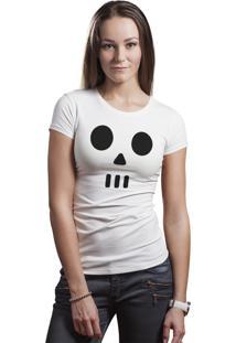 Camiseta Hunter Rosto Lata Branca
