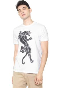 Camiseta Ellus Tiger Branca