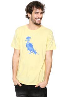 Camiseta Reserva Aquarela Amarela