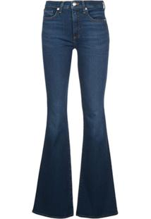 Veronica Beard Calça Jeans Flare - Azul