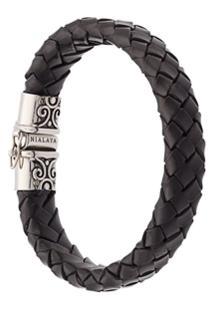 Nialaya Jewelry Bracelete De Couro - Preto