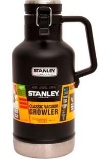 Garrafa Térmica Growler Stanley Matte Black 1,9L