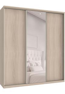 Guarda-Roupa Casal Com Espelho Premium Max 3 Pt 6 Gv Rovere