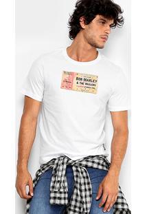 Camiseta Cavalera Bob Marley Masculina - Masculino