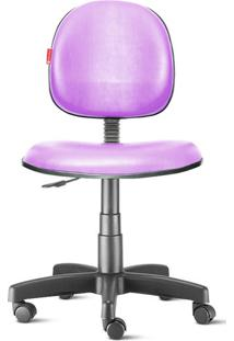 Cadeira Executiva Giratória Couvin Lilás