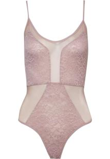 Body Bobô Paty Underwear Nude Feminino (Nude, M)