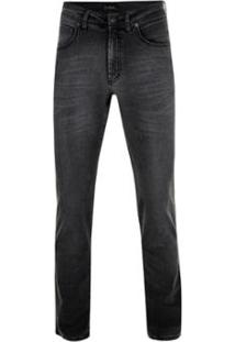 Calça Jeans Pierre Cardin Vintage Black - Masculino-Preto