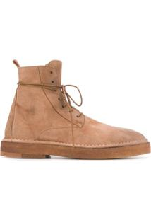 Marsèll Lace-Up Ankle Boots - Marrom