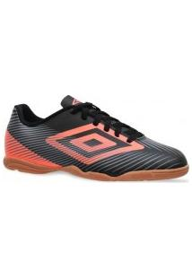 Tênis Umbro Futsal Speed Ii 628696 Preto/Laranja