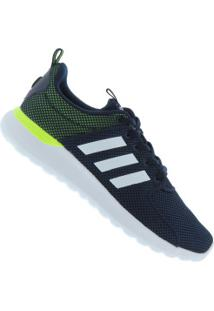 Tênis Adidas Cf Lite Racer - Masculino - Azul Esc/Branco