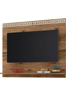 Painel Para Tv Atã© 55 Polegadas 136Cm Sala De Estar City New Canela - Frade Movelaria - Marrom - Dafiti