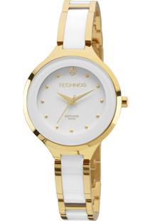 Relógio Technos Ceramic Feminino Analógico - 2035Lyw/4B