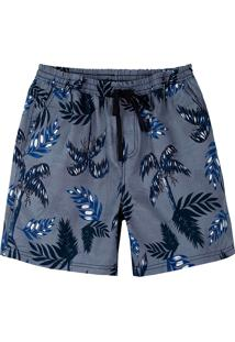 Shorts Masculino Estampado Com Bolsos