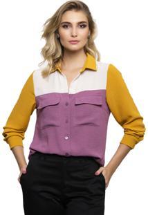 Camisa Pele Macia Tricolor