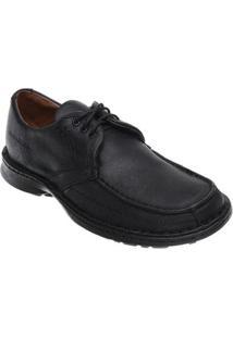 Sapato Casual Em Couro Hayabusa Support 6 Masculino - Masculino-Preto