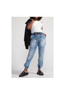 Calça Jeans Biotipo Jogger Melissa Azul
