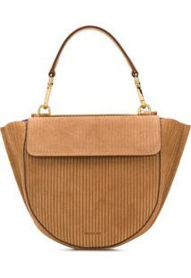 Wandler Mini Hortensia Corduroy Crossbody Bag - Neutro
