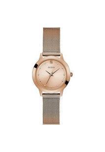 Relógio Guess Analógico Feminino - W1197L6 Rosa