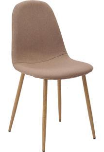 Cadeira Tania Caqui Base Clara Rivatti Móveis Caramelo