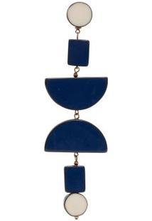 Brinco Unitário Cetus Twin Solo - Azul