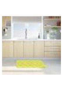 Tapete De Cozinha Mdecore Limão Verde 40X60Cm