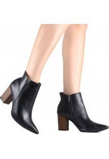 Bota Zariff Ankle Boot Cano Curto
