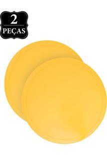 Jogo Americano Copa E Cia Color Esfera 2 Peças Amarelo