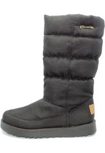 Bota Barth Shoes Snow Feminina - Feminino-Preto
