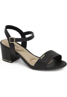 Sandália Modare Salto Médio Ultraconforto - Feminino