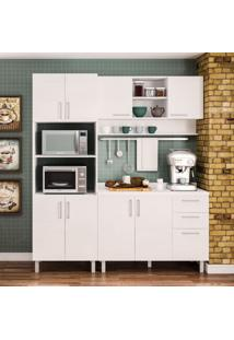 Cozinha Compacta Floripa 8 Pt 3 Gv Branca